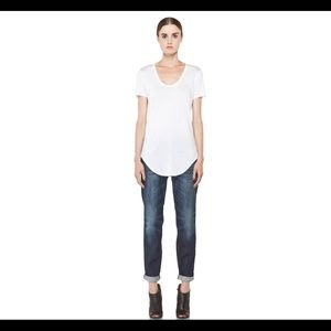 R13 Barney's New York relaxed skinny jeans